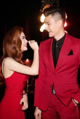 Cặp đôi Vĩnh Thụy- Hoàng Thùy Linh
