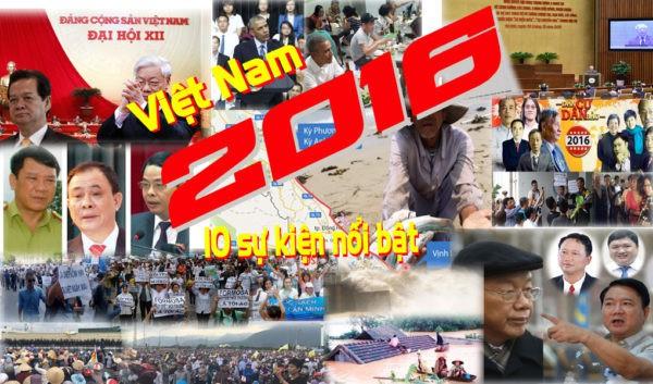sự kiện nổi bật tại Việt Nam năm 2016