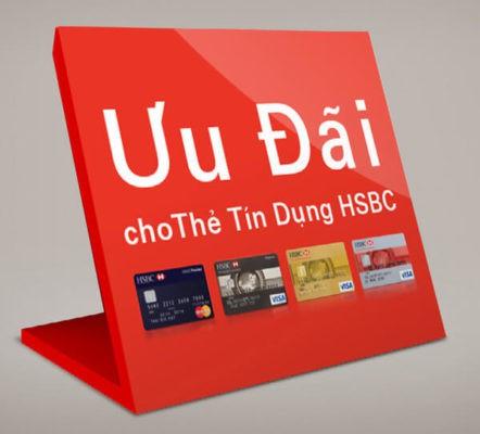 khuyến mãi mua sắm bằng thẻ tín dụng