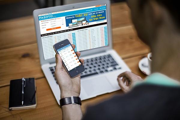 website bán vé xe, vé tàu trực tuyến