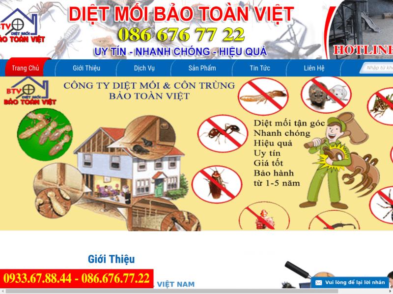 Top 5 dịch vụ diệt côn trùng, diệt muối, diệt mối tại nhà ở TPHCM