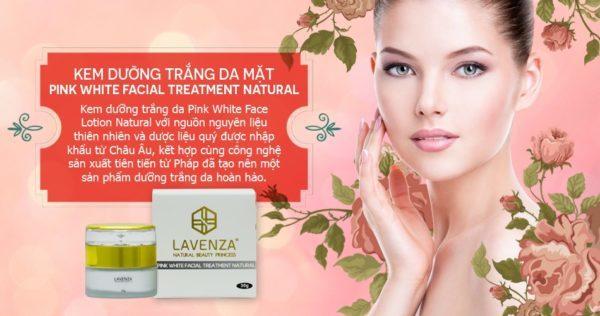 Kem dưỡng trắng da mặt White Facial Treatment Natural