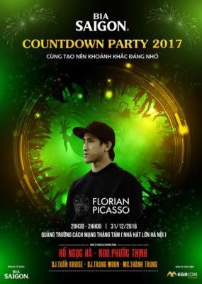 Đón năm mới với lễ hội Countdown Party 2017 cùng bia Sài Gòn