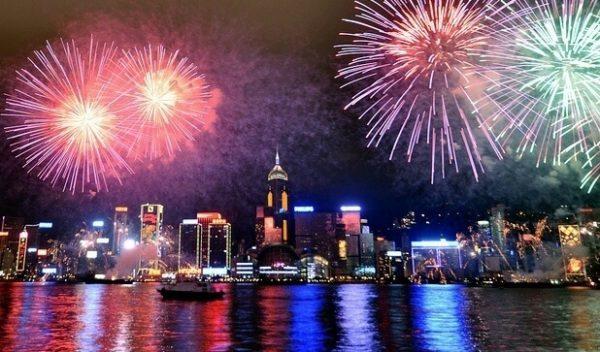 Lễ hội countdown 2017 tại HongKong