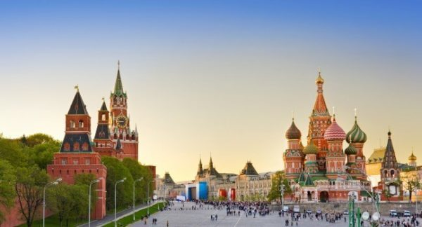 Lễ hội countdown 2017 tại Moscow