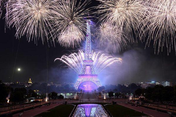 Lễ hội countdown 2017 tại Paris