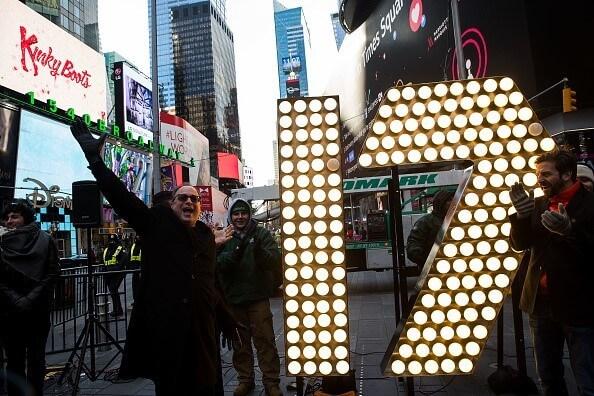 Lễ hội countdown 2017 tại New York