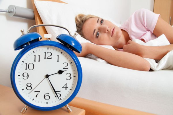 người thường xuyên mất ngủ