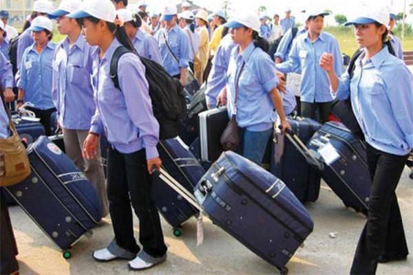 nước xuất khẩu lao động nhiều nhất tại Việt Nam