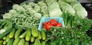 cửa hàng rau sạch ở Hà Nội