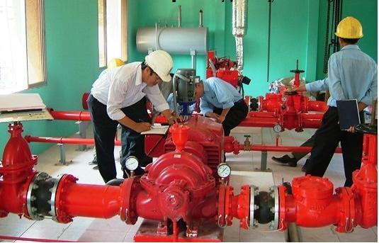 sửa chữa bảo trì hệ thống PCCC tại TPHCM