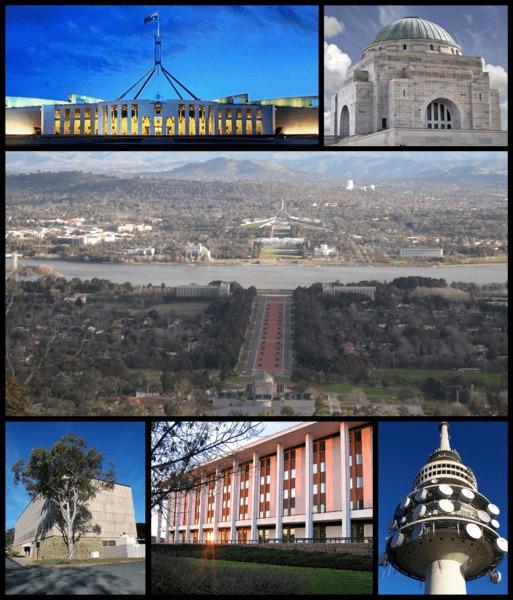 Thành phố Canberra–Queanbeyan