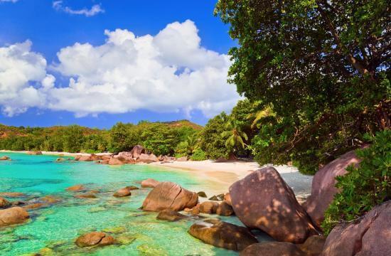 Bãi biển Anse Lazio, đảo Praslin, Seychelles