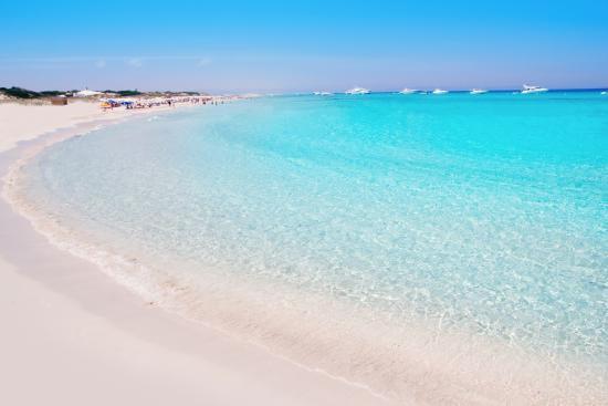 Bãi biển Playa de Ses Illetes, Tây Ban Nha
