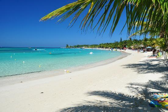 Bãi biển West Bay, Roatan, Honduras