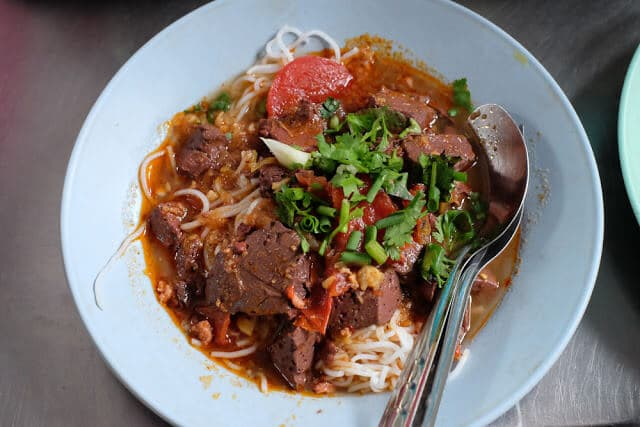 Món ngon Khanom Jeen Nam Ngiao