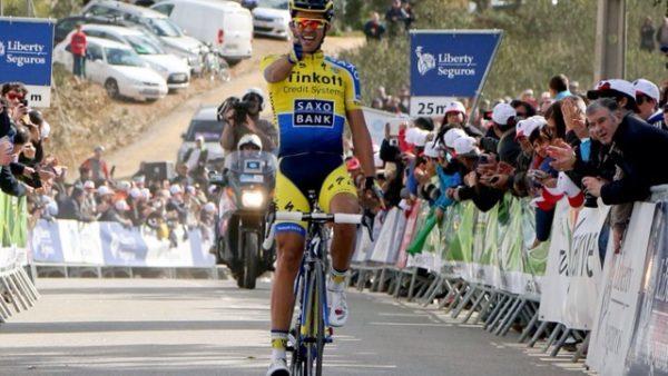 Vận động viên đua xe đạp Alberto Contador Velasco