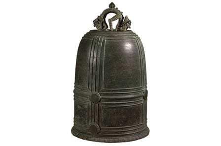 Chuông chùa Vân Bản là chiếc chuông cổ nhất của nền văn minh Đại Việt