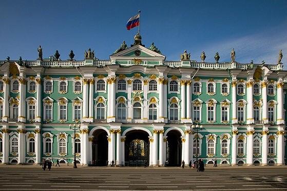 công trình kiến trúc nổi tiếng nhất nước Nga