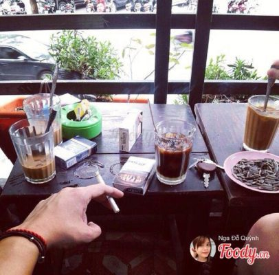 quán cafe thu hút