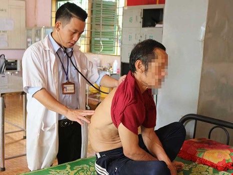 Nguyễn Viết Thanh còn trẻ nhưng đã là Trưởng khoa tâm thần
