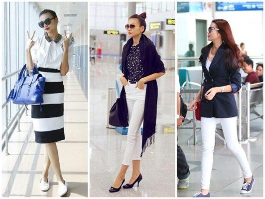 10 kiểu mẫu thời trang sân bay của sao Việt đẹp nhất