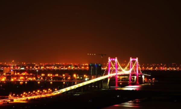 Cầu Thuận Phước về đêm – Đà Nẵng