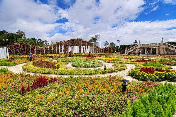 Vườn hoa Le Jardin D'Amour- Đà Nẵng