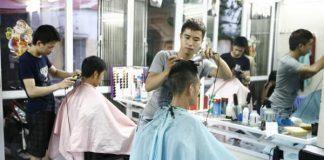 Top 10 tiệm cắt tóc nam đẹp ở Hà Nội