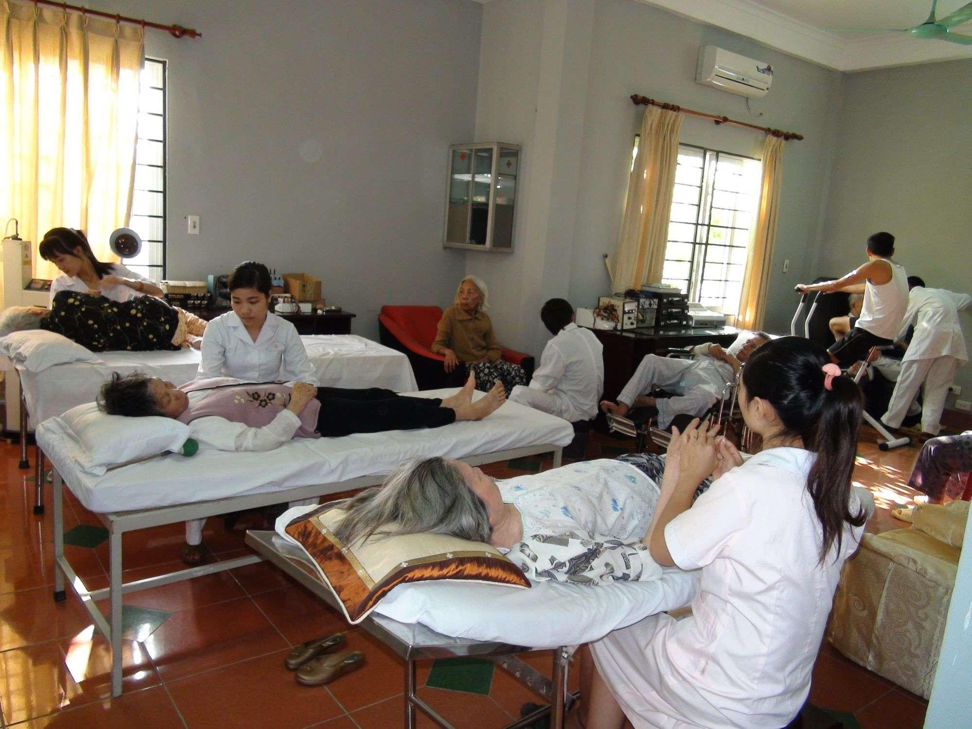 viện dưỡng lão cao cấp ở Hà Nội