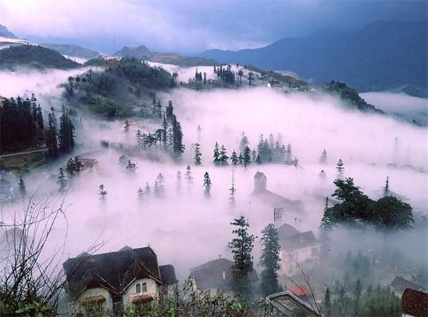 địa danh tại vùng núi Tây Bắc
