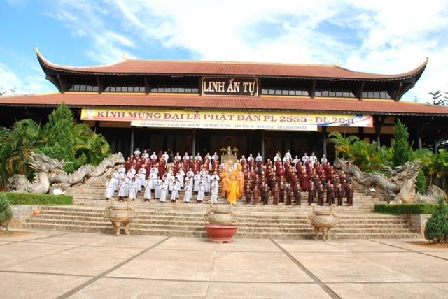 ngôi chùa linh thiêng nhất Đà Lạt