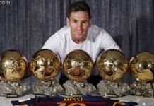 cầu thủ giành nhiều quả bóng vàng