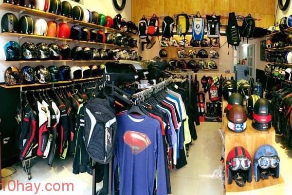 Shop phụ kiện mô tô xe máy tại TPHCM