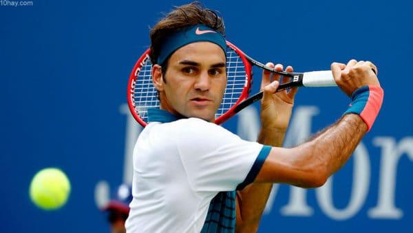 No 1. Roger Federer