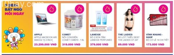 5 Hot deal giảm giá bất ngờ từ Lazada