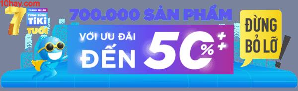 """Tiki.vn khuyến mãi với mức giá """"sốc"""" chưa từng có"""