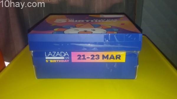 BOX OF JOY Lazada (Nhận quà mừng sinh nhật Lazada)