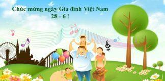 Ngày gia đình Việt Nam 28/6