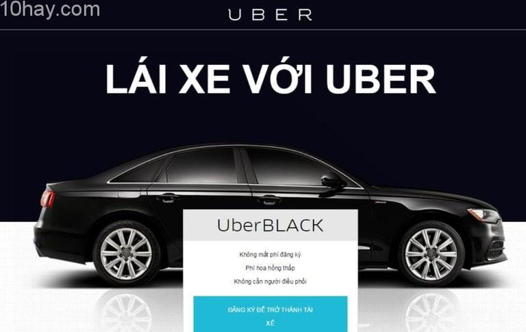 Chỉ cần có xe hơi là bạn đã có thể đăng ký lái xe với Uber