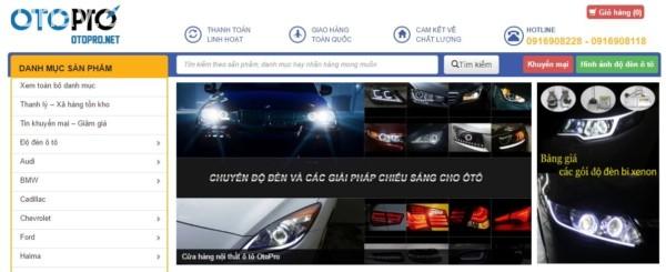 OtoPro chuyên cung cấp các sản phẩm đồ chơi, phụ kiện ô tô