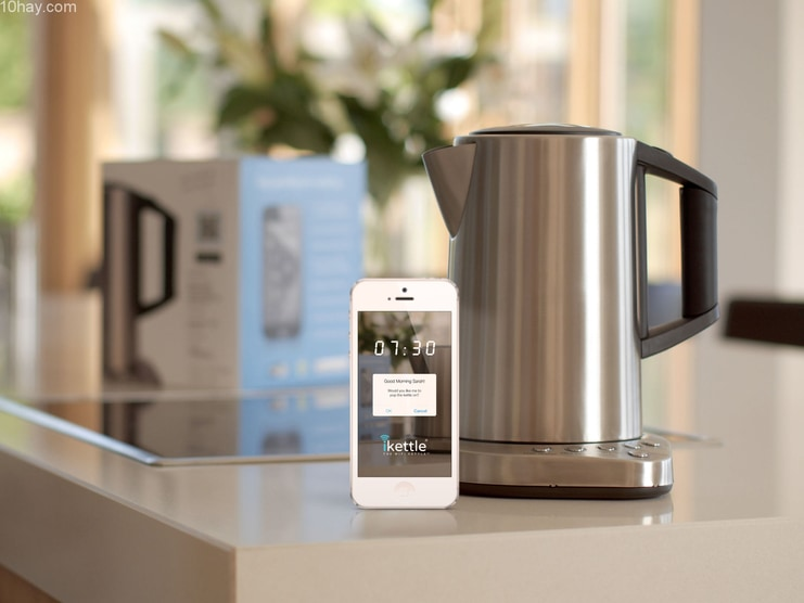 Kết hợp thiết bị công nghệ hiện đại vào nhà bếp