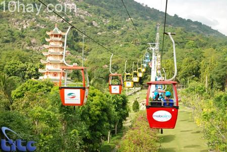 Cáp treo núi Bà Đen- Tây Ninh