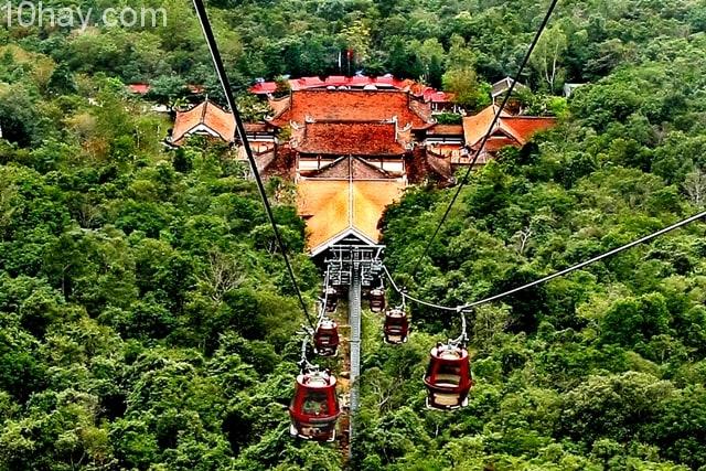 Tuyến cáp treo Yên Tử- Quảng Ninh