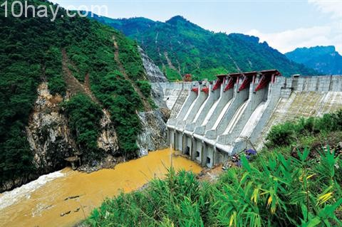 Nhà máy thủy điện Huội Quảng- Sơn La