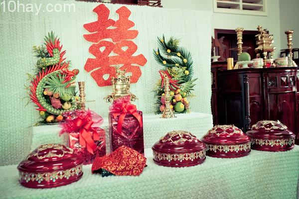 Dịch vụ trang trí nhà ngày cưới giá rẻ tại TPHCM