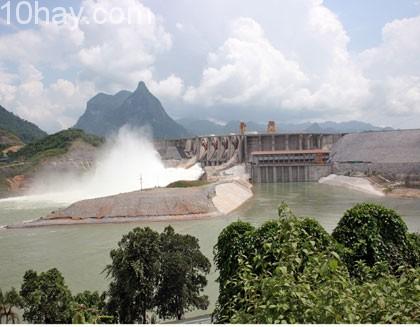 Nhà máy thủy điện Tuyên Quang- Tuyên Quang