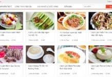 trang web dạy nấu ăn nổi tiếng