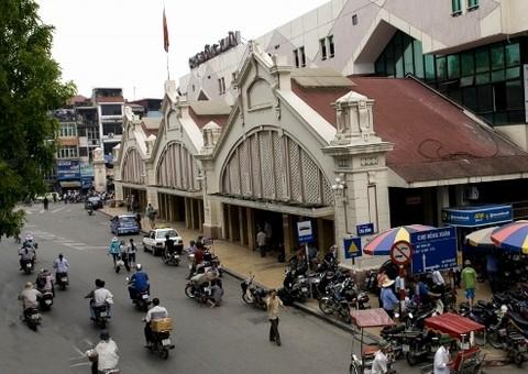Chợ lớn nhất trong khu phố cổ Hà Nộ