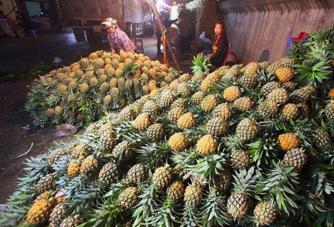 Chợ đầu mối Văn Quán- Hà Nội